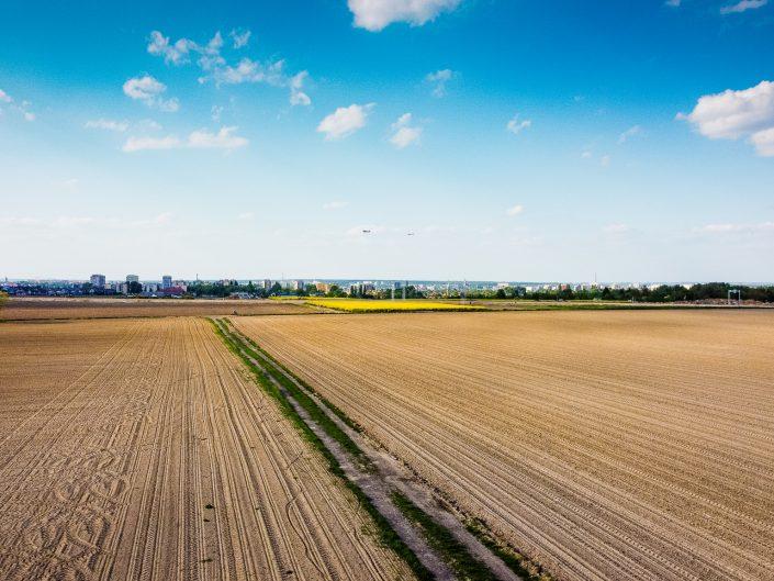 Gliwice widok na osiedle Sikornik z drona