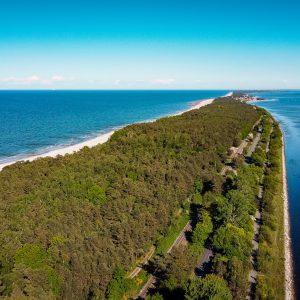 Półwysep Helski - zdjęcie z drona