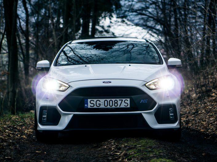 Ford Focus Mk3 RS | Grzegorz Kozłowski fotografia motoryzacyjna Gliwice, Śląsk