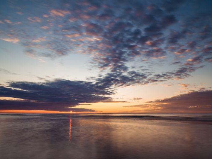 Karwia - zachód słońca