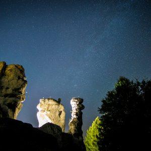 Noc spadających gwiazd - Ogrodzieniec