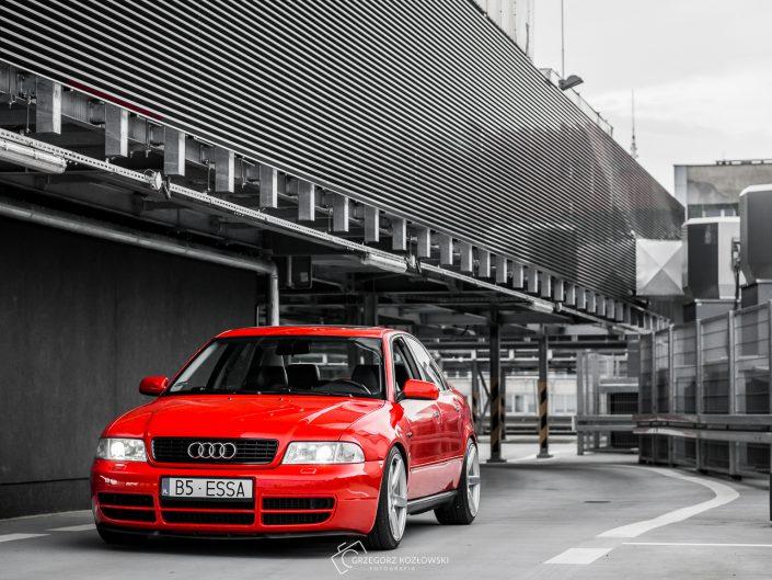 """Audi A4 B5 S4 front 18"""" Vossen- Grzegorz Kozłowski fotografia motoryzacyjna"""