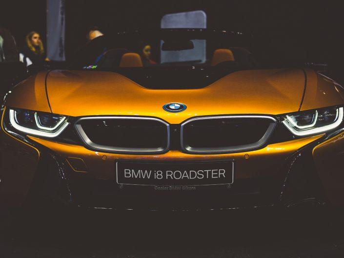 BMW i8 | Grzegorz Kozłowski fotografia motoryzacyjna Gliwice, Śląsk